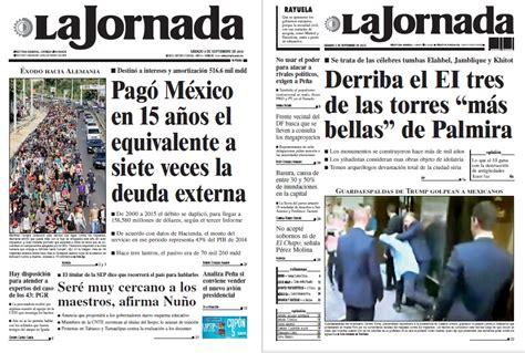 Noticias Guerrer@s SME: Periódico LA JORNADA: Pagó México ...