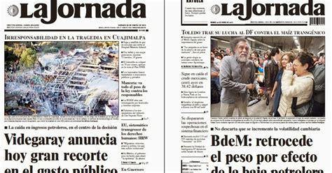 Noticias Guerrer@s SME: Periódicos LA JORNADA: Videgaray ...