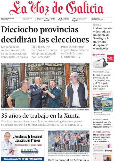 Noticias Sobre Cajamar. La Voz De Galicia - ofertas ...