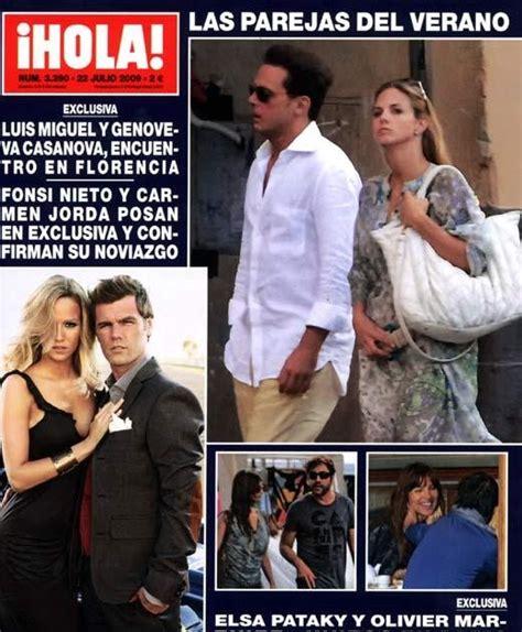 Noticias sobre Luis Miguel: Revista Hola! España
