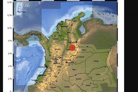 NOTICIAS: Temblor en Colombia hoy martes 7 de agosto de ...