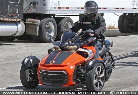 Nouveautés   Nouveautés 3 roues : le futur Can Am Spyder ...