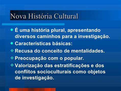 Nova história cultural e a micro história