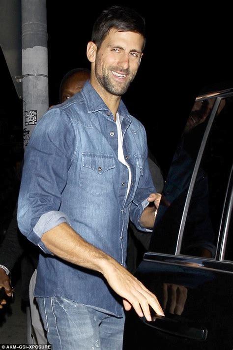 Novak Djokovic leaves The Nice Guy with Bollywood star ...