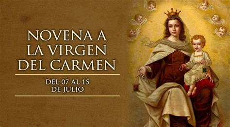 Novena a la Virgen del Carmen - ACI Prensa