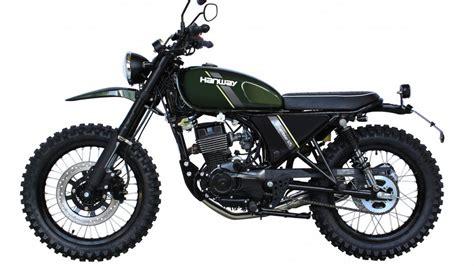 Novità moto: Hanway 125, scrambler low cost da 2.000 euro ...