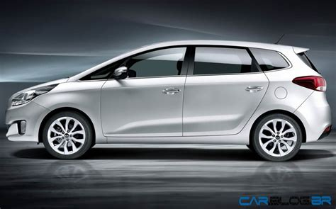 Novo Kia Carens 2013 - fotos oficiais | CAR.BLOG.BR