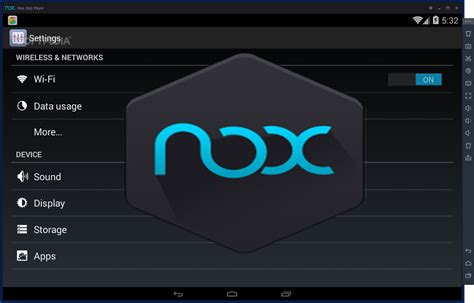 Nox App Player, potente emulador Android.
