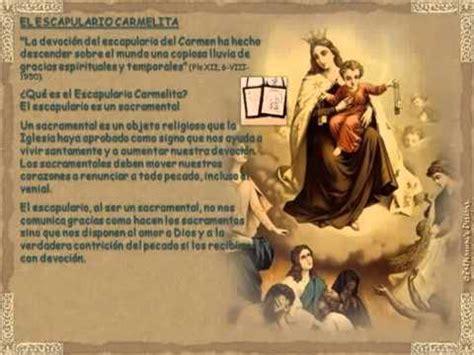 Nuestra Señora del Carmen Oración y Escapulario   YouTube