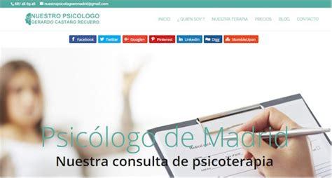 Nuestro Psicólogo en Madrid   Directorio de Enlaces de ...