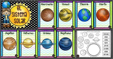 Nuestro Sistema Solar   Imagenes Educativas