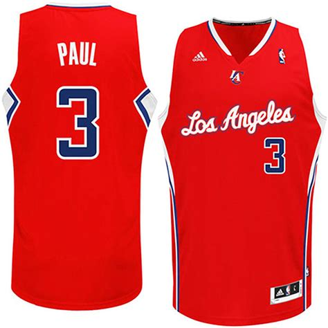 Nueva Camiseta Chris Paul 3 Los Angeles Clippers Rev30 ...