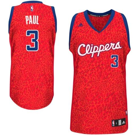 Nueva Camiseta Los Angeles Clippers Leopard Chris Paul 3 ...