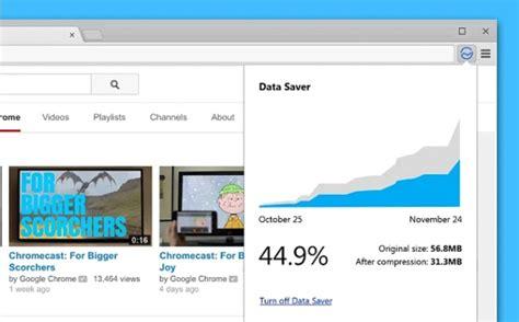 Nueva extensión de Chrome para ahorrar datos cuando te ...