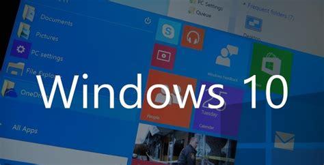 Nueva información de Windows 10