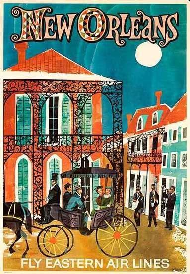 Nueva Orleans | Posters de Viajes | Pinterest | Cartelitos ...
