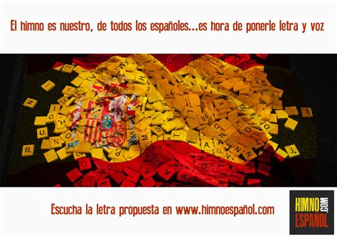 Nueva propuesta de letra para el himno español presentada ...