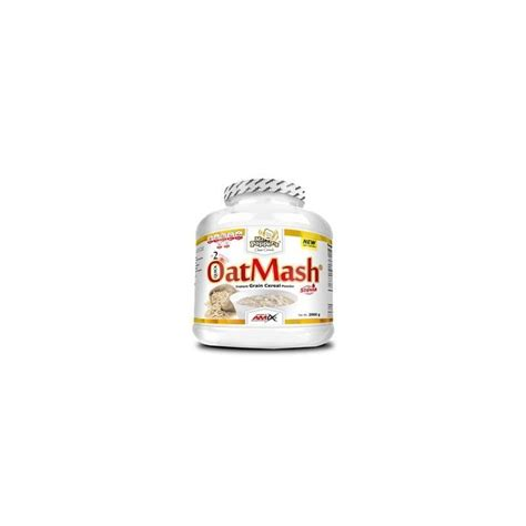 Nuevas harinas de avena OatMash de Amix   Global Nutricion