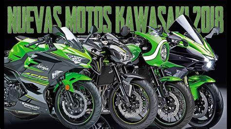 NUEVAS MOTOS KAWASAKI 2018 !!! NINJA 400 + Z900 A2 + NINJA ...