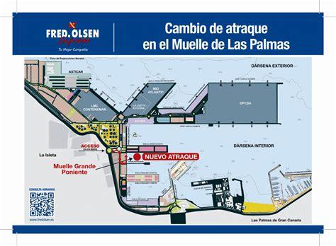 Nuevo atraque del buque Bonanza Express en Las Palmas de ...