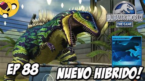 NUEVO HIBRIDO Y RECLUTAMIENTO DINO!!! // Jurassic World ...