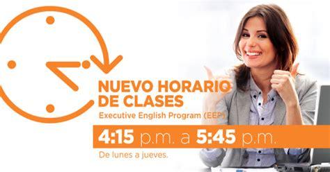 Nuevo horario de clases | ELS Panamá