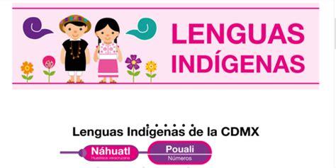 Nuevo micrositio busca rescatar lenguas indígenas en CDMX ...