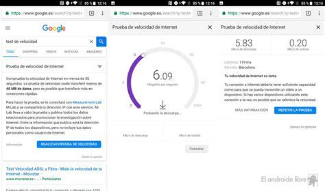 Nuevo test de velocidad de Google: mide tu conexión en el ...