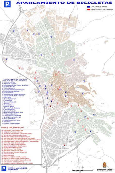 Nuevos aparcamientos de bicicletas en el centro y barrios ...
