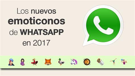 Nuevos emoticonos de WhatsApp 2017 (TOP 10) - YouTube
