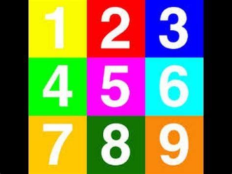 Numero en ingles 1 al 10 con pronunciación.   YouTube