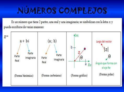 Numeros complejos