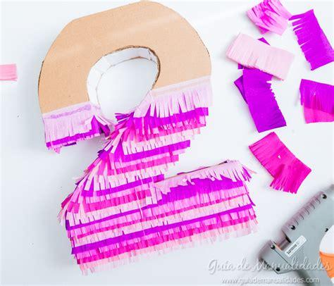 Números de cartón y papel para fiestas   Guía de MANUALIDADES