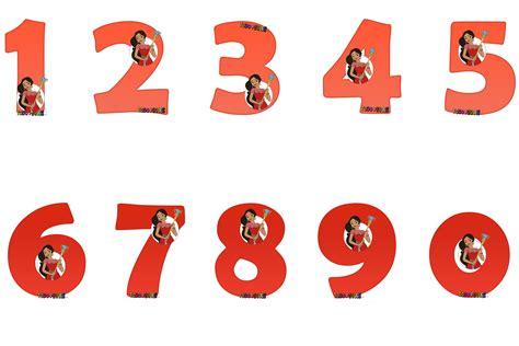 Números de Elena de Avalor Disney para imprimir gratis ...