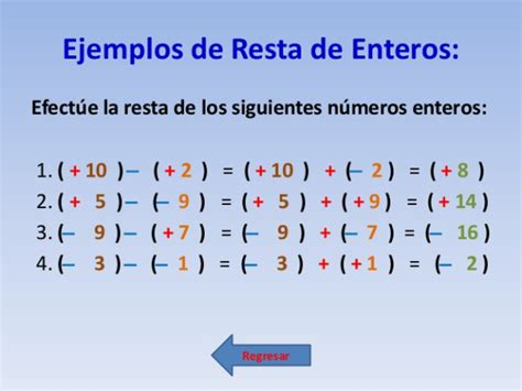 Números Enteros | MATEMATICAS