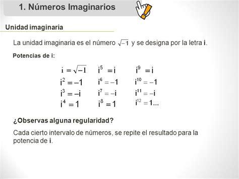 Números imaginarios y complejos   ppt descargar