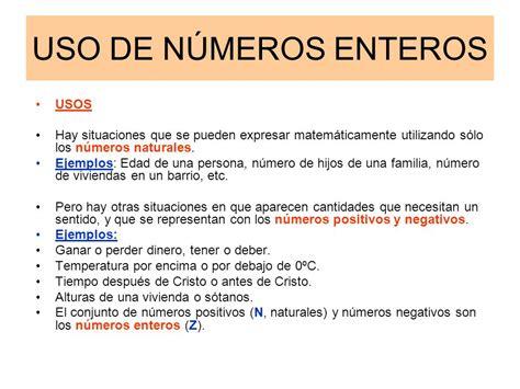 NUMEROS NATURALES Y NÚMEROS ENTEROS   ppt video online ...