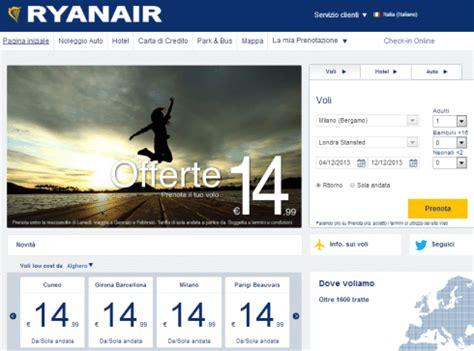 Nuovo sito Ryanair, ecco come trovare e prenotare i voli ...
