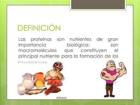 Nutricion proteinas