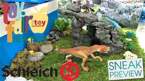 NY TOY FAIR 2018 SCHLEICH DINOSAURS & MORE FIRST LOOK ...