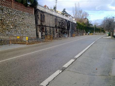 Obras de acerado en la carretera N-342 (dirección Murcia ...