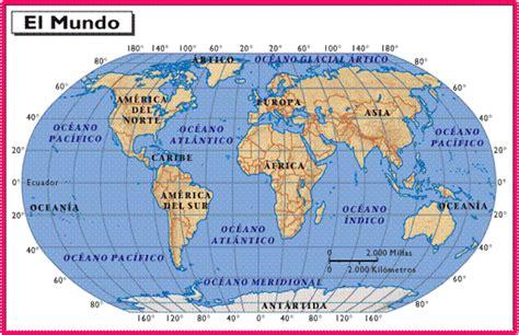 Oceanía:  Cinco Continentes En Uno : Mapas; Países ...