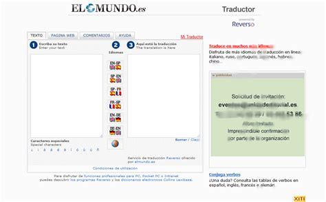 Ocho Traductores en Webs como comparar traducciones