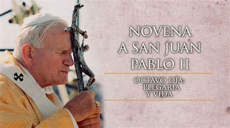 Octavo Día de la Novena a San Juan Pablo II - ACI Prensa