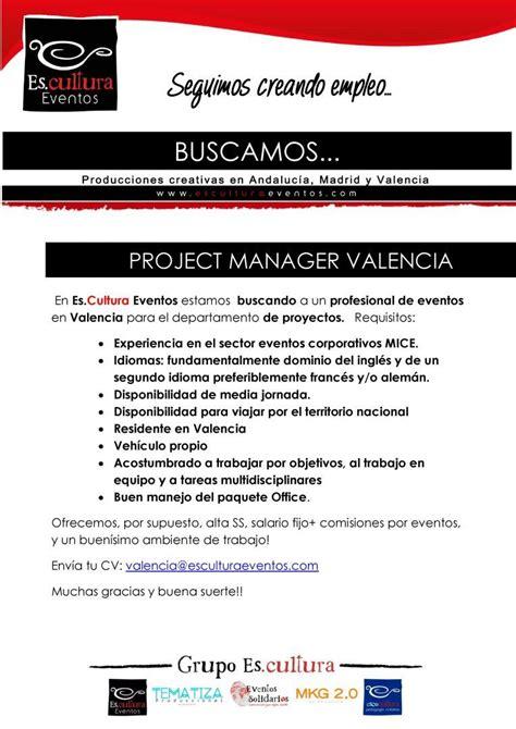 Oferta de empleo y de prácticas en Es.cultura Eventos