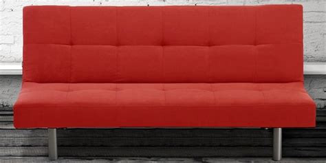 Oferta en sofá cama Mallorca rojo por 172€