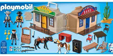 Oferta Playmobil Maletín del Oeste por sólo 19,64€