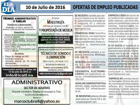 OFERTAS DE EMPLEO | A.E.D.L. La Orotava | Página 45