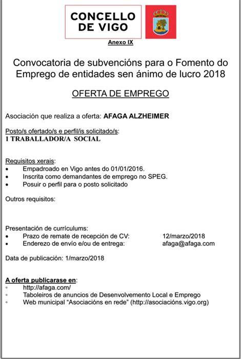 Ofertas de Empleo - AFAGA