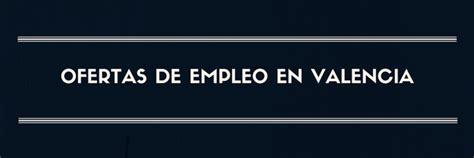 Ofertas de empleo en Valencia | VLC Empleo